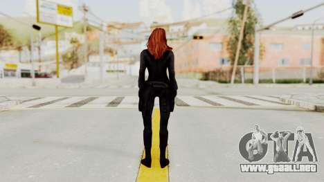 Captain America Civil War - Black Widow para GTA San Andreas tercera pantalla
