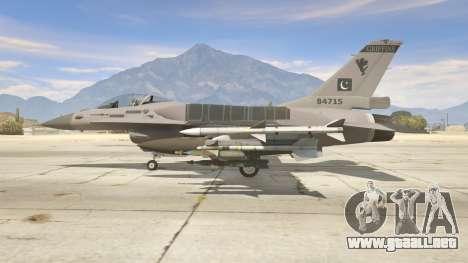 GTA 5 F-16C Block 52 segunda captura de pantalla