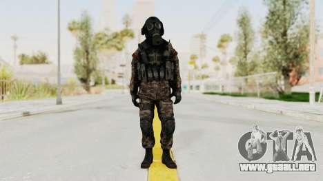 CoD MW3 Russian Military SMG v3 para GTA San Andreas segunda pantalla