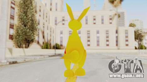 Kao the Kangaroo Gloves para GTA San Andreas tercera pantalla