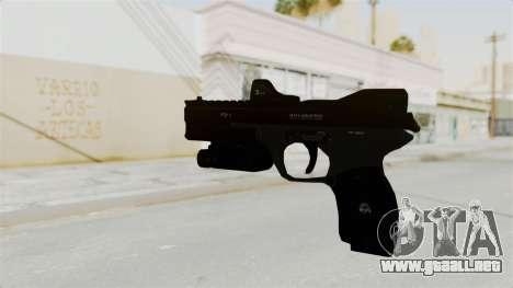 Killzone - M4 Semi-Automatic Pistol para GTA San Andreas segunda pantalla