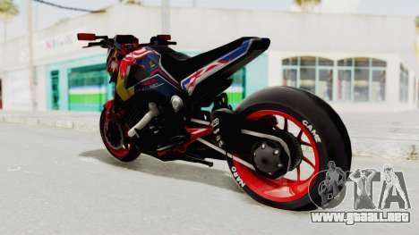 Honda MSX 125 Modified para GTA San Andreas left