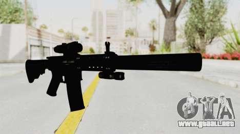 Colt M4 CQB S.W.A.T. para GTA San Andreas