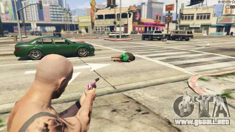 GTA 5 Force Eject sexta captura de pantalla