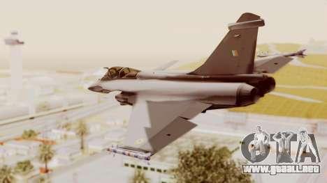 Dassault Rafale Indian Air Force para GTA San Andreas left