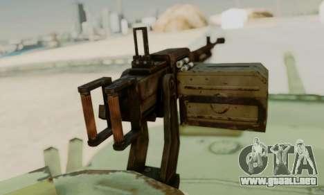 EL T-72A para la visión correcta GTA San Andreas