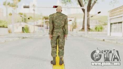 MGSV Ground Zeroes US Soldier No Gear v2 para GTA San Andreas tercera pantalla