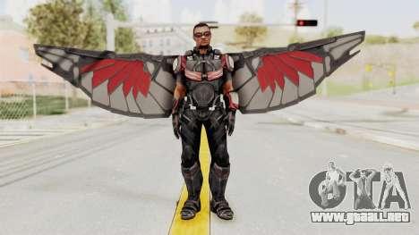 Captain America Civil War - Falcon para GTA San Andreas segunda pantalla