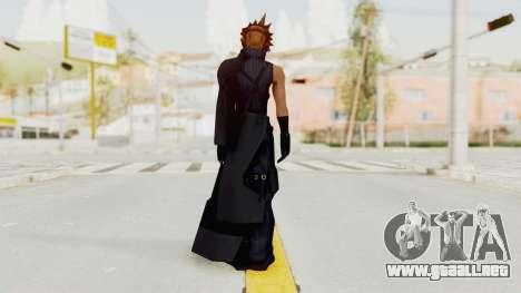 Kingdom Hearts 2 - Cloud Strife para GTA San Andreas tercera pantalla