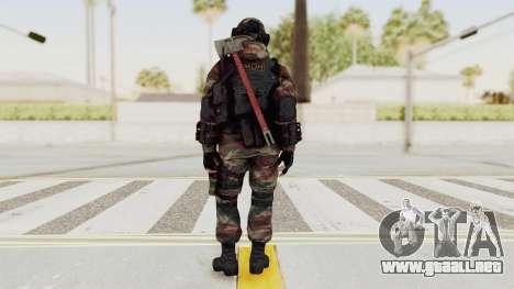 Battery Online Russian Soldier 6 para GTA San Andreas tercera pantalla