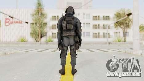 CoD MW3 SAS para GTA San Andreas tercera pantalla