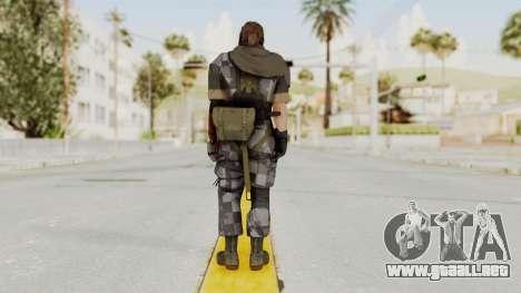 MGSV The Phantom Pain Venom Snake Sc No Patch v7 para GTA San Andreas tercera pantalla