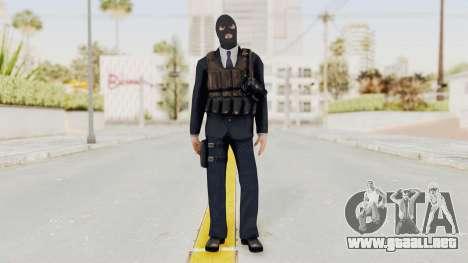 Bourne Conspirancy Euro Mercenary para GTA San Andreas segunda pantalla