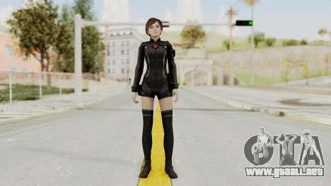 Resident Evil 0 HD Rebecca Chambers Wesker Mode para GTA San Andreas segunda pantalla
