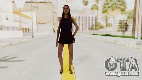 Sasha v2 para GTA San Andreas segunda pantalla