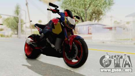 Honda MSX 125 Modified para la visión correcta GTA San Andreas