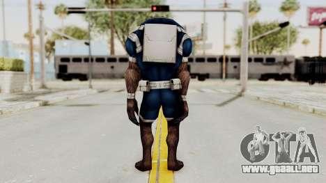 Marvel Future Fight - Warwolf para GTA San Andreas tercera pantalla