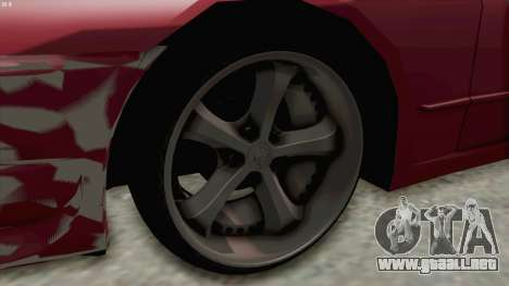 Nissan Skyline NAR32 para GTA San Andreas vista hacia atrás