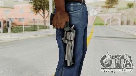 VC Python Pistol para GTA San Andreas tercera pantalla