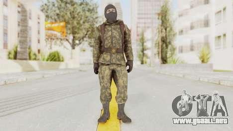 COD Black Ops Russian Spetznaz v2 para GTA San Andreas segunda pantalla
