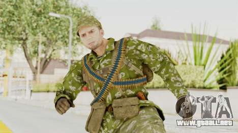 MGSV The Phantom Pain Soviet Union LMG v2 para GTA San Andreas
