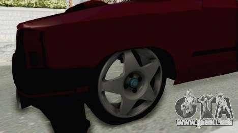 Renault Broadway v2 para GTA San Andreas vista hacia atrás