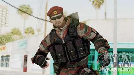 Battery Online Russian Soldier 1 v1 para GTA San Andreas