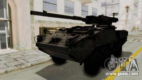 M1128 Mobile Gun System para GTA San Andreas