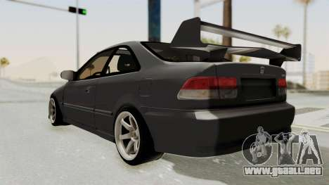 Honda Civic 1995 FnF para GTA San Andreas left