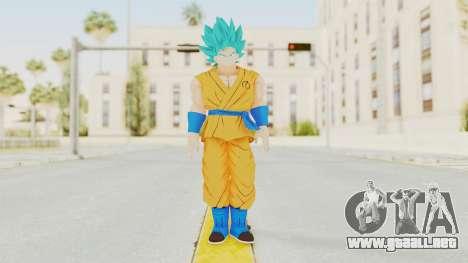 Dragon Ball Xenoverse Goku SJ para GTA San Andreas segunda pantalla