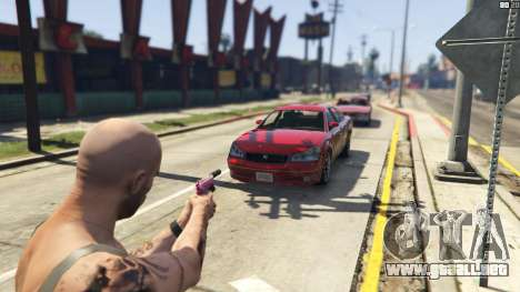 GTA 5 Force Eject tercera captura de pantalla