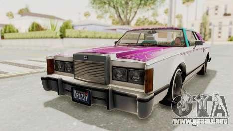 GTA 5 Dundreary Virgo Classic Custom v1 para GTA San Andreas interior
