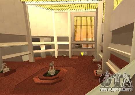 New Interior Radiocenter para GTA San Andreas
