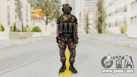 Battery Online Russian Soldier 4 para GTA San Andreas segunda pantalla