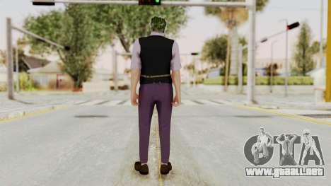 Joker Skin para GTA San Andreas tercera pantalla