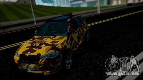 BMW X5M ( Davidich ) para visión interna GTA San Andreas