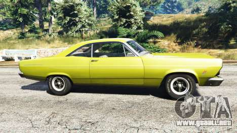 GTA 5 Ford Fairlane 500 1966 v1.1 vista lateral izquierda