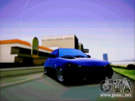 VAZ 2110 Agresivo para GTA San Andreas vista posterior izquierda