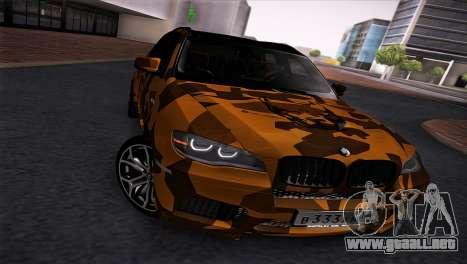 BMW X5M ( Davidich ) para GTA San Andreas left