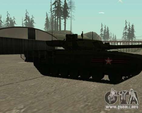 T-14 Armata para las ruedas de GTA San Andreas