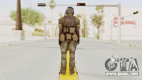 MGSV Phantom Pain Wandering MSF Mosquite para GTA San Andreas tercera pantalla