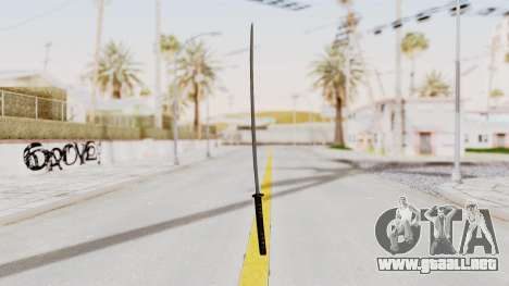 Liberty City Stories - Katana para GTA San Andreas segunda pantalla