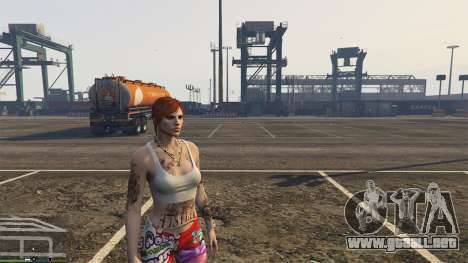 GTA 5 Skin Control 2.1 segunda captura de pantalla