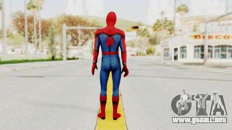 Marvel Heroes - Spider-Man (Civil War) para GTA San Andreas tercera pantalla