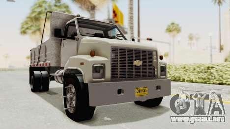 Chevrolet Kodiak Dumper Truck para la visión correcta GTA San Andreas