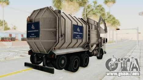 New Trashmaster para GTA San Andreas left