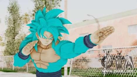 Dragon Ball Xenoverse Goku SSJ4 SSGSS para GTA San Andreas