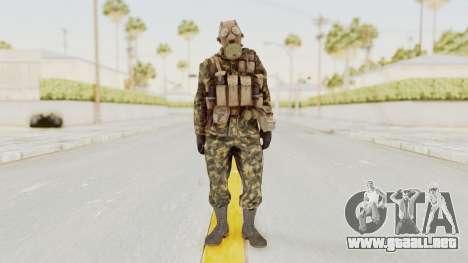 COD Black Ops Russian Spetznaz v6 para GTA San Andreas segunda pantalla
