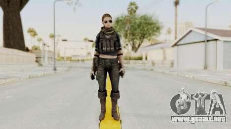 Phantomers Linda Sashantti para GTA San Andreas segunda pantalla