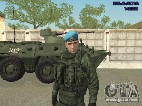 Modern Russian Soldiers pack para GTA San Andreas décimo de pantalla